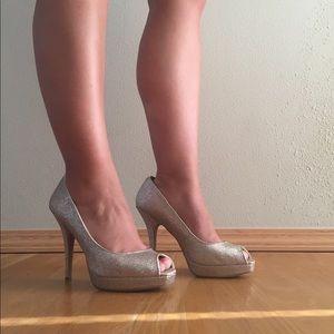 Steve Madden glitter heels - 9